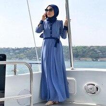 Kaftan Dubai Abaya Turkey Hijab Muslim Dress Abayas For Women Ramadan Jilbab Caftan Marocain Robe Musulman Islamic Clothing