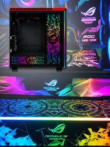 MOD RGB Lighting Panel For PC Case VGA Backplate Side Panel Symphony A-RGB Colorful RGB
