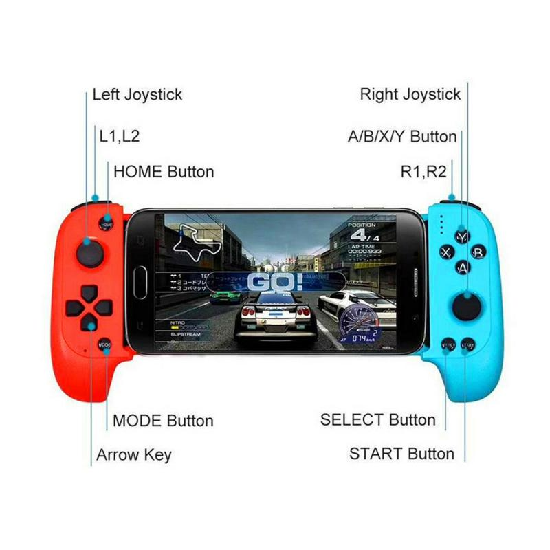 lowest price Hot Selling Saitake 7007F Wireless Bluetooth Controller Telescopic Gamepad Joystick For Samsung Xiaomi Huawei Android Phone PC
