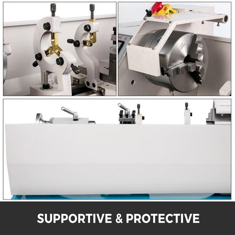 1,1 KW Metall Drehmaschine Maschine für Zähler Gesicht Drehen Driling hohe genaue