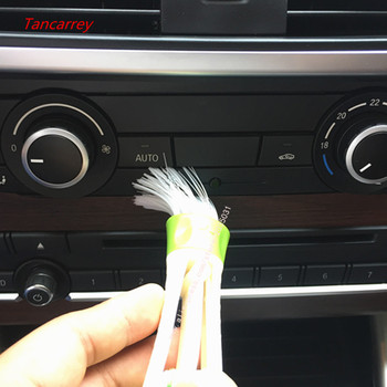 2020 heat Air Conditioner Outlet Cleaning Brush For volkswagen passat b8 volvo xc40 w220 mercedes volkswagen polo 6r bmw x5 e70 image