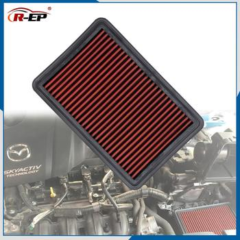 Air Filter Replacement High Flow Car Sports for Mazda 3 Axela 6 Atenza CX-4 CX-5 Premacy 2.0L 2.5L Biante 2.3L Intake Filters - discount item  25% OFF Auto Replacement Parts