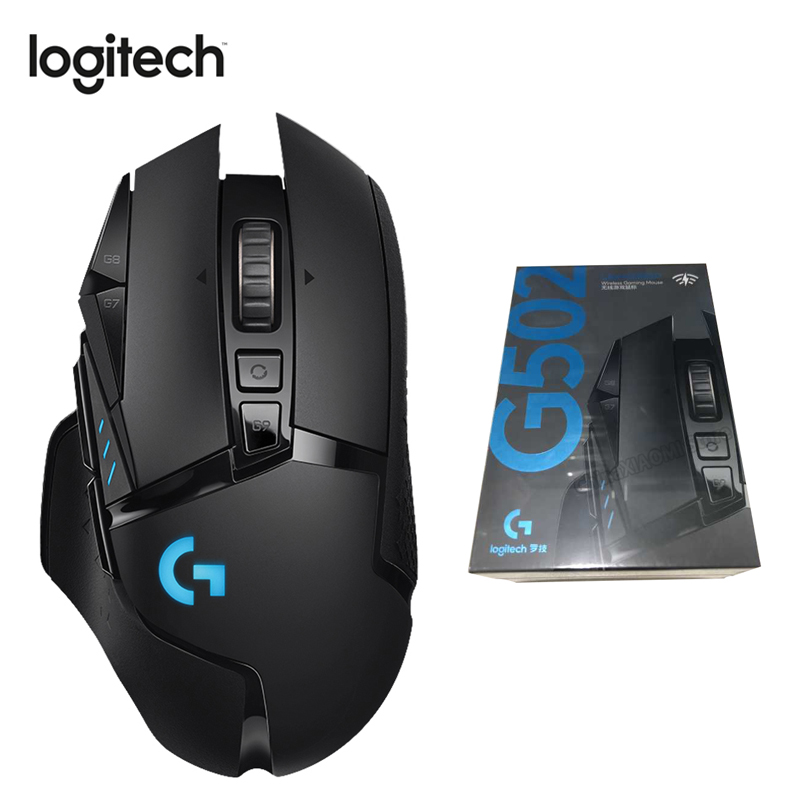 Logitech G502 LIGHTSPEED Game Mouse with 16000DPI HERO Sensor Support Button Tensioning System Gaming Mouse New Product 2019 image