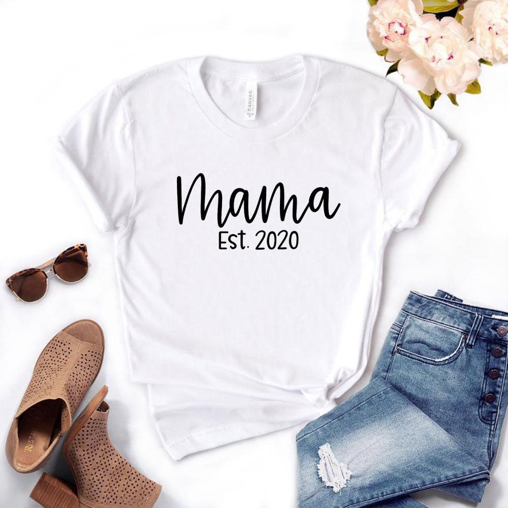 Tshirt  Casual Women Girl T-shirt Text Picture T Shirt Women's White T-shirt For Print Streetwear On The Shelf T-shirt