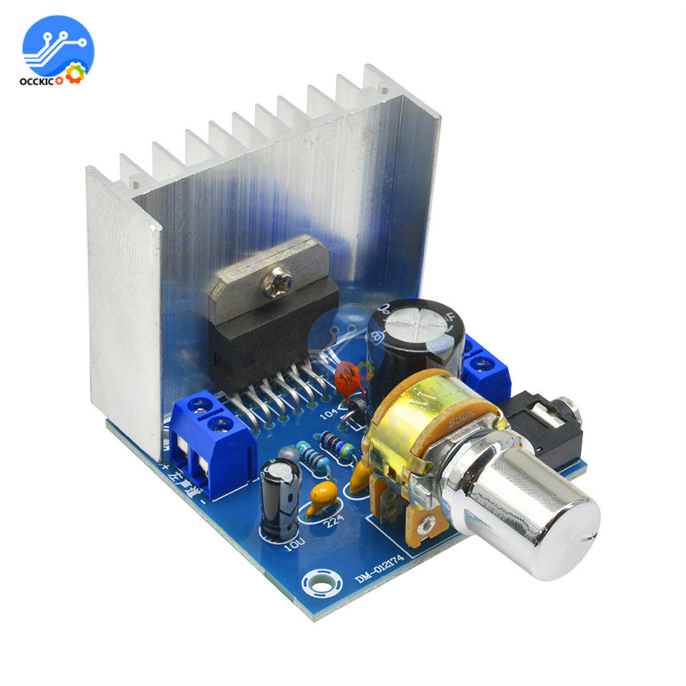 DIY Kit TDA7297 audio amplifier board Version B speaker DC 9-15V 15W*2 Digital Audio Power Amplifier Module volume control