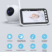 Baby-Monitor Camera Nanny Feeding Video-Color Babies Surveillance Electronic Indoor Wireless