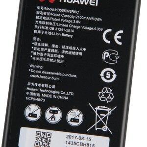Image 5 - Original Ersatz Telefon Batterie Für Huawei A199 G606 G610 G610S G700 G710 G716 C8815 Y600D U00 Y610 Y3ii HB505076RBC 2100mAh
