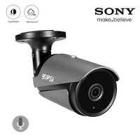 4K 8mp/5mp/4mp/2mp 36 stücke Infrarot Leds Schwarz Grau IP66 Wasserdicht AHD Audio CCTV sicherheit Überwachung Kameras