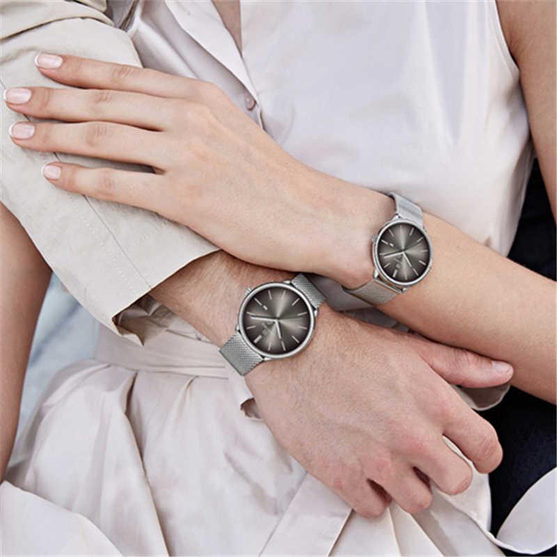 NAVIFORCE marque haut de gamme montres femmes Quartz Simple hommes montre étanche hommes montres dames Couple horloge Relogio Masculino