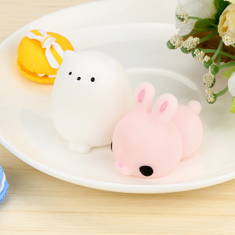 Cute Mochi Squishy Cat Squeeze Healing Fun Kids Kawaii Toy Stress Reliever Decor Kids Toys Squishy Toys Juguetes Para Ninos