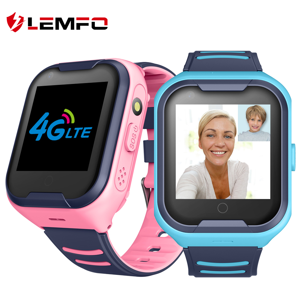 LEMFO G4H 4G Kids Smart Watch GPS Wifi Ip67 Waterproof 650Mah Big Battery 1.4 Inch Display Camera Take Video Smartwatch Kids-in Smart Watches from Consumer Electronics on AliExpress