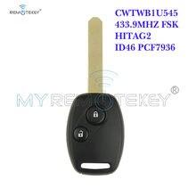 Пульт дистанционного управления remtekey cwtwb1u545 2 кнопки