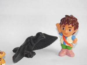 "Image 4 - الذهاب ، دييغو ، الذهاب 5 قطعة و 6 قطعة دورا المستكشف لنا الطلب الأصلي ألعاب أطفال درة دييغو والحيوانات دمى 5 سنتيمتر 2"""