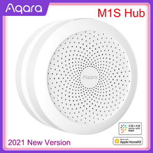 2021 aqara m1s hub gateway com rgb led night light zigbee 3.0 app controle remoto casa inteligente trabalho com mijia app apple homekit