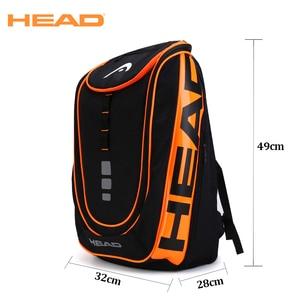 Head Tennis Bag Backpack Outdoor Sport Bag Tennis Racket Bag Raqueta Tenis Head Backpack Original Tennis Backpack With Shoe Bag