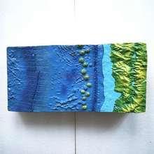 Подводный местности модель география Преподавание Инструмент