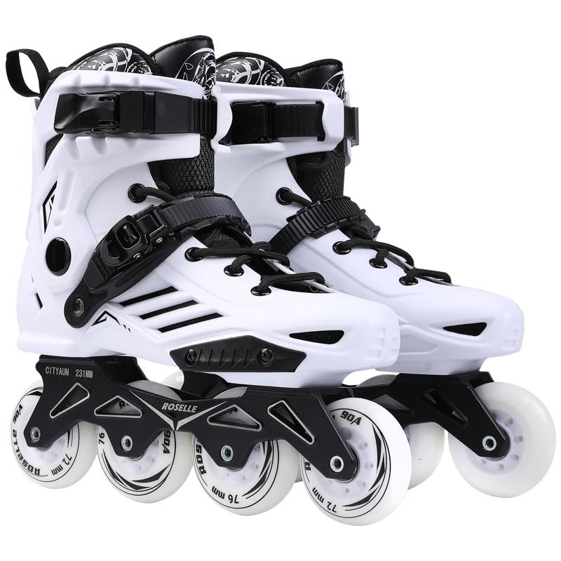 100% Originele Powerslide Skate Frame 3*110mm 255mm Met 110mm Powerslide Schaatsen Wielen Voor 165mm Afstand Patines Base - 3