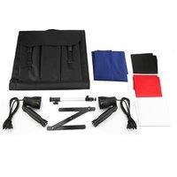 Portable 50cm Camera Photo Studio Box Soft Light Cube Tent Kit With Tripod Mobile Shot Box Set Photography Props