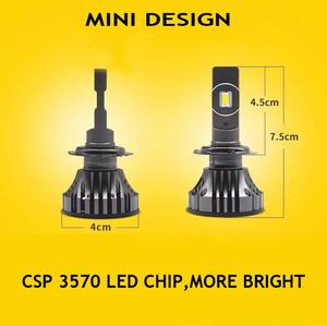 Image 2 - YOTONLIGHT H1 Led far H7 H4 çift renkli H11 Led ampul 9005 9006 HB3 HB4 120w 12000lm 6500K 3000K 4500K