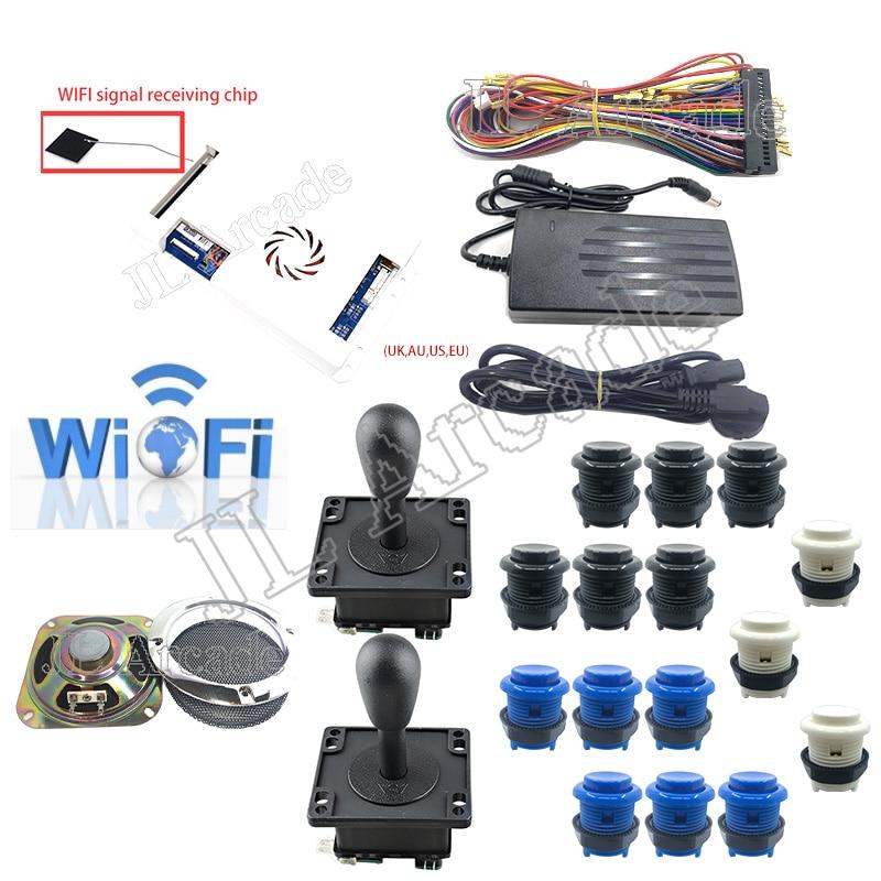 WIFI Pandora Box 3D 2448 kit DIY Arcade Kit HAPP buttons and Joystick speaker Arcade Console