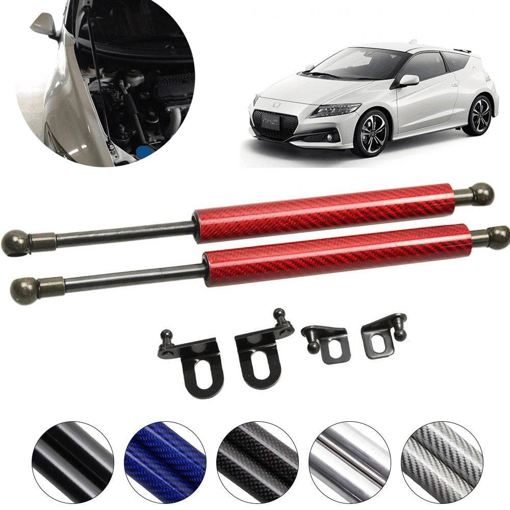 Pour Honda CR-Z CRZ 2010-2018 capot avant capot modifier en Fiber de carbone gaz entretoises amortisseur ascenseur prend en charge absorbeur