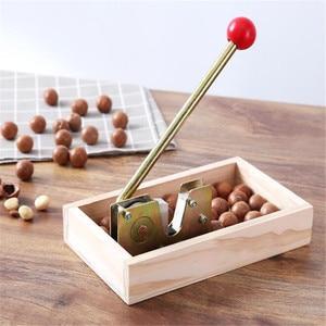Image 2 - Manual macadamia nut opener nut cracker machine Walnut Nutcracker nut sheller tool Kitchen Accessories