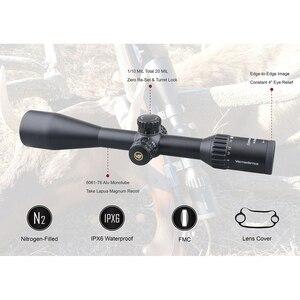 Image 3 - Тактический Оптический прицел Vector Optics Continental 4 24x50 SFP, HD стекло, 1/10 мил, 30 мм трубка, светильник пропускание 90%, подходит для 30 06 7,62