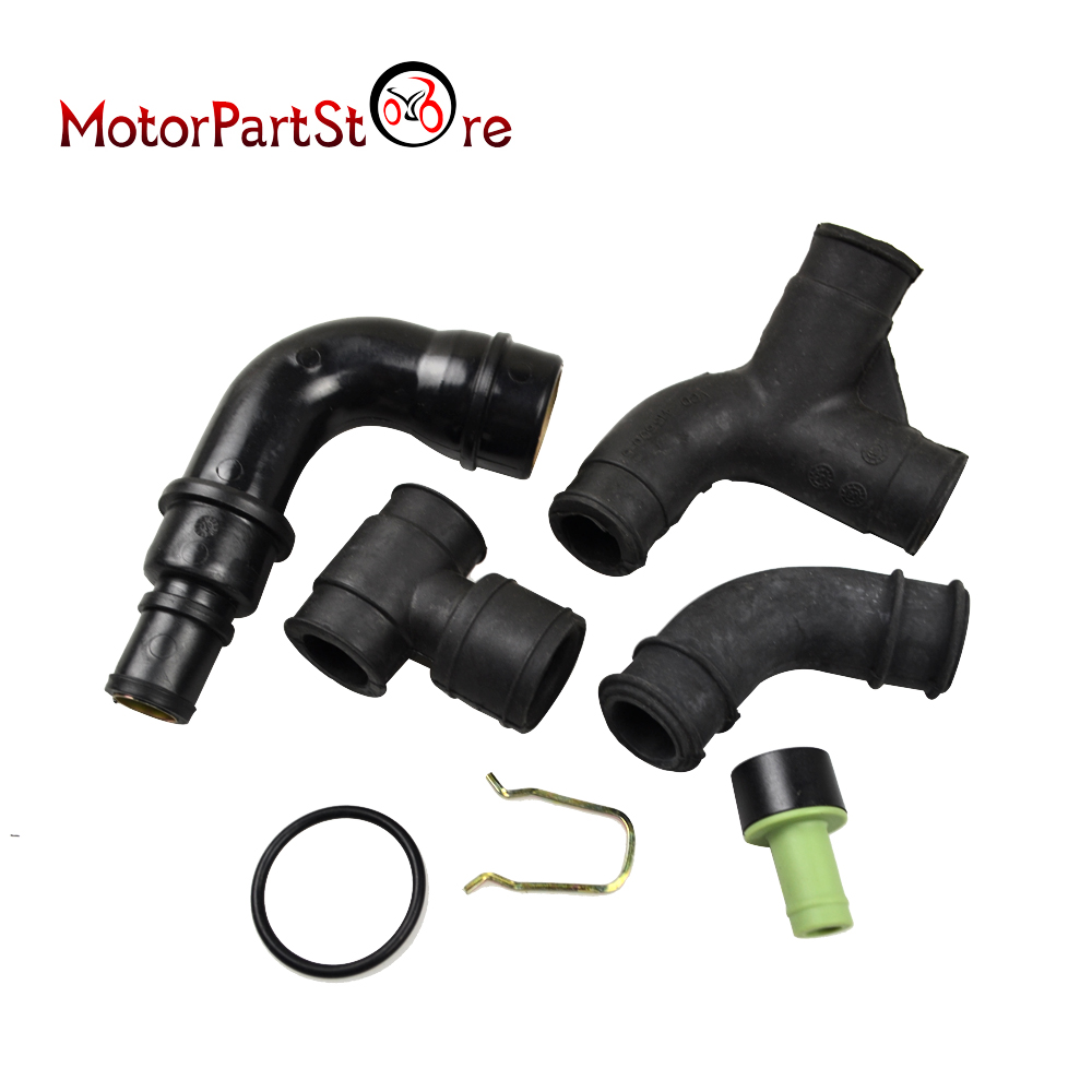 Set For Engine Crankcase Breather Vent Hose For VW Passat 01-02 FOR AUDI A4 1.8T AWT AWM 06B103221P 06A103247 D15