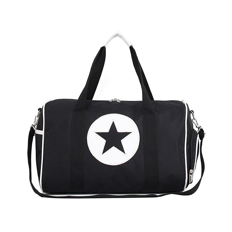 Fashion Travel Bag For Man Leisure Fitness Handbag Nylon Carry On Luggage Portable Outdoor Women Weekend Shoulder Bag LGX108