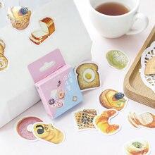 45 шт/пакет Милая еда вафельная декоративная фотобумага для
