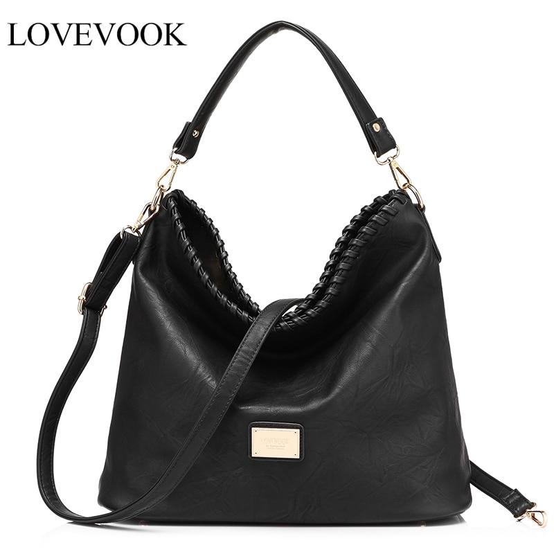 LOVEVOOK Women Shoulder Crossbody Bag Female Handbag Famous Brands Messenger Bags For Women Totes Purses And Handbags Large 2018