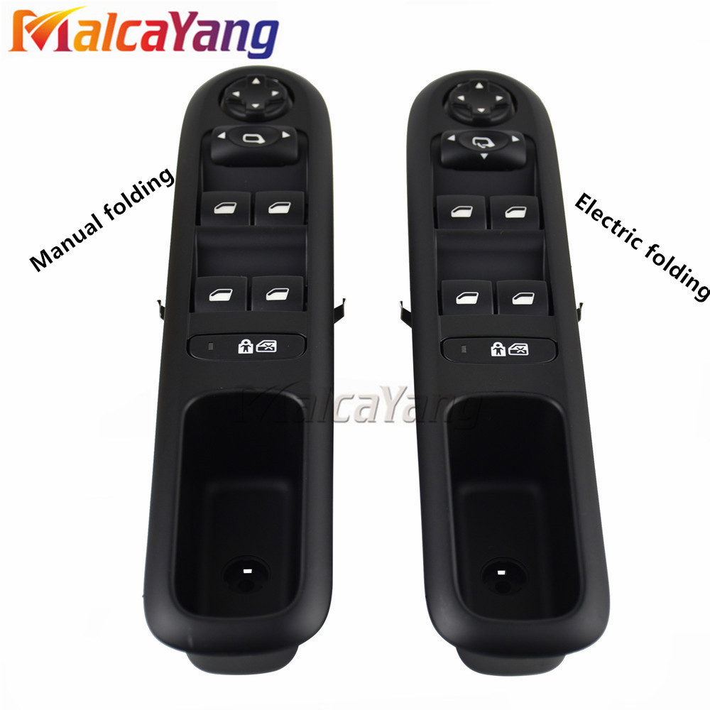 Left Front Power Window Switch Control Button For <font><b>Peugeot</b></font> <font><b>3008</b></font> 2009-2015 5008 2009 - <font><b>2016</b></font> 96650621ZD 6490X6 image