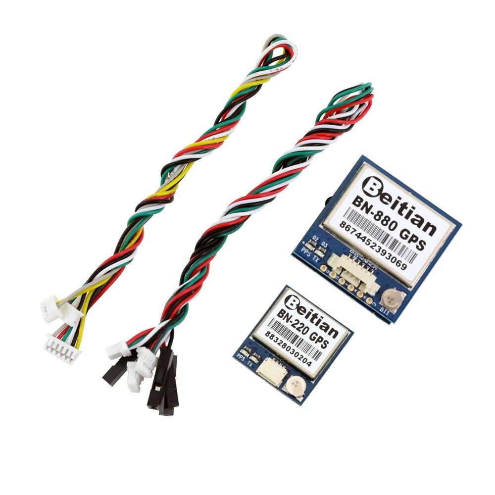Beitian BN220 BN-880 3.0V-5.0V TTL Level GNSS Module GPS GLONASS Dual GPS Module Antenna,built In FLASH BN-220 BN880