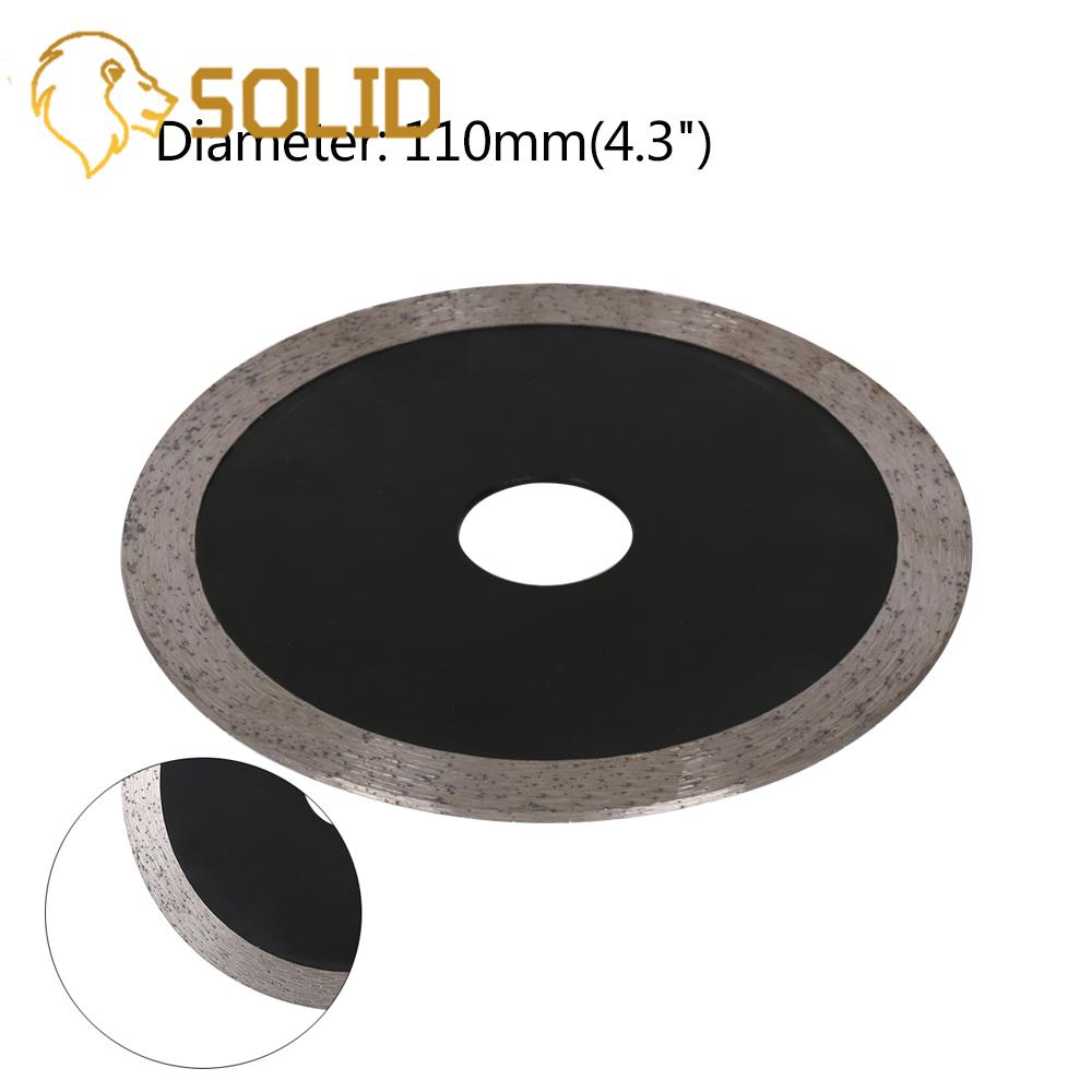 110mm Diamond Saw Blades Circular Saw Blade Wet Cutting Disc For Concrete Ceramic Brick Marble Stone Saw Tool