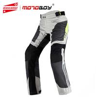 MOTOBOY Motorcycle Pants Summer Breathable Motorcycle Riding Pants Motocross Pants Clothing With CE Protective Gear