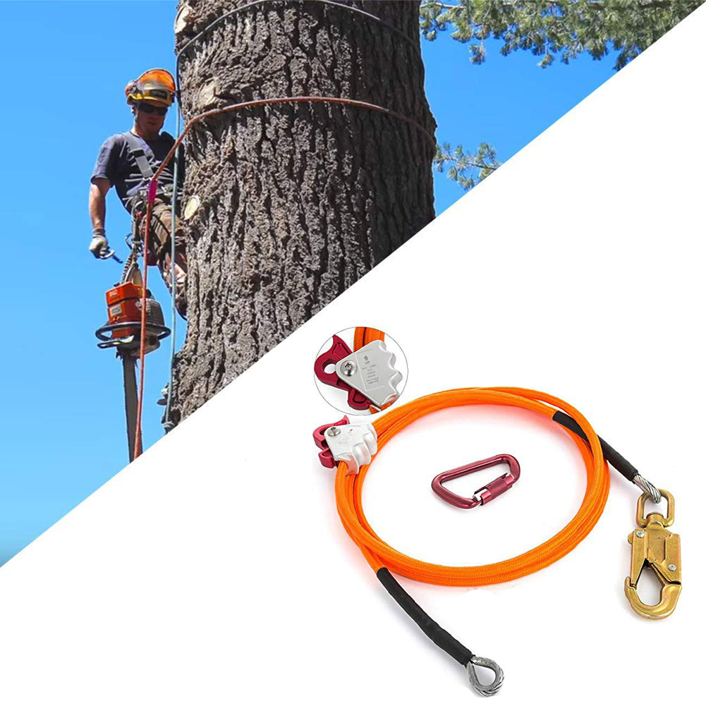 Arbor Climbing Rope Steel Wire Core Flip Line Kit Empty Positioning Rope For Arborists Climbers Tree Climbers Locator