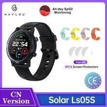 (Gratis Film)2021 Youpin Haylou Rt LS05S Solar2 Smartwatch Lange Batterij Hartslag Sleep Monitor IP68 Waterdichte Fitness Tracker