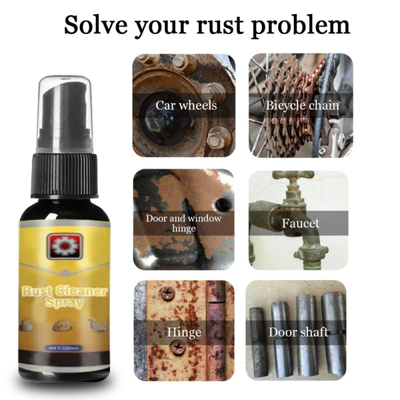 30ml Portable Mold Cleaner, Rust Remover, Window, Rust Inhibitor, Wheel, Spindle, Derusting Spray, Car Maintenance Cleaning