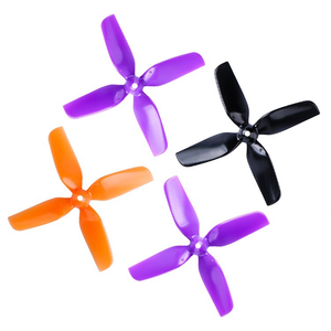 Image 5 - 12pairs HQ 40mm 1.6inch 4blades Propeller for Indoor Micro Drone 0802/1104 1/1.5mm Motors