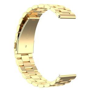 Image 4 - 20mm 조정 가능한 시계 밴드 손목 스트랩 삼성 갤럭시 시계 활성 2 40/44mm 블랙 골드 로즈와 골드 실버