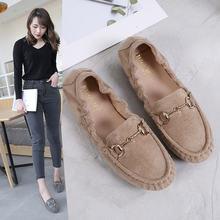 Женские туфли в Корейском стиле однотонные простые удобные на