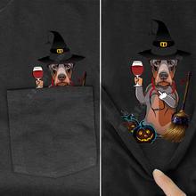 Футболка plstar cosmos с карманом для Хэллоуина футболка принтом