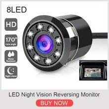 Универсальная автомобильная камера заднего вида 4 светодиодный