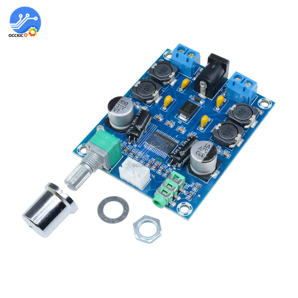 TPA3118D2 Digital Audio Amplifier Board Dual Channel 45Wx2 Stereo HIFI Speaker Volume Control Sound Board High Power Subwoofer