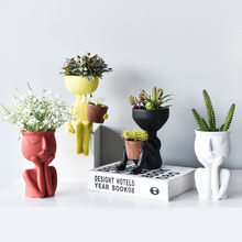 Скандинавская Минималистичная керамическая абстрактная ваза