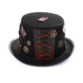 Punk-Black-Fedora-Steampunk-Men-Women-Top-Hat-With-Googles-Gothic-Party-Festival-Hats-Accessories-For