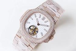 WG10298 męskie zegarki Top marka Runway luksusowy wzór europejski automatyczny zegarek mechaniczny|Zegarki mechaniczne|   -