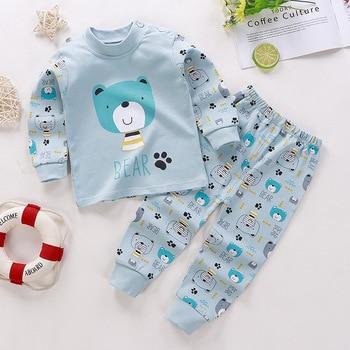0-24M Baby Clothing Sets Autumn Baby boys Clothes Infant Cotton Girls Clothes 2pcs newborn baby Underwear Kids Clothes Set - N, 9M