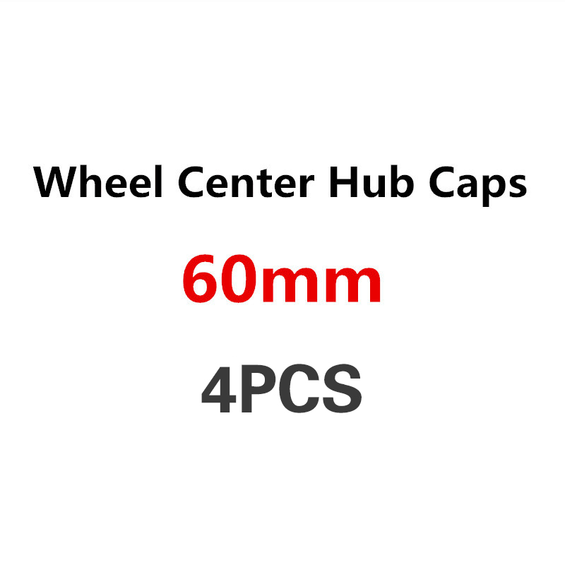 4pcs 60mm Car Wheel Center Hub Cap Badge Logo Covers For AUDI A3 A1 A8 A7 A4 B6 B8 B7 B5 A6 C5 C6 A5 80 Q7 TT Q5 Q3 S3 S4 S5 8P image