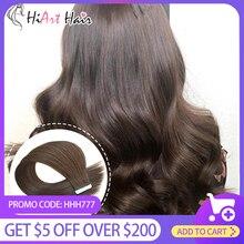 HiArt наращивание волос ленты в человеческих волос Реми Фабрика салон нарисованные двойником выдвижения волос ленты 2.5 г прямо 18